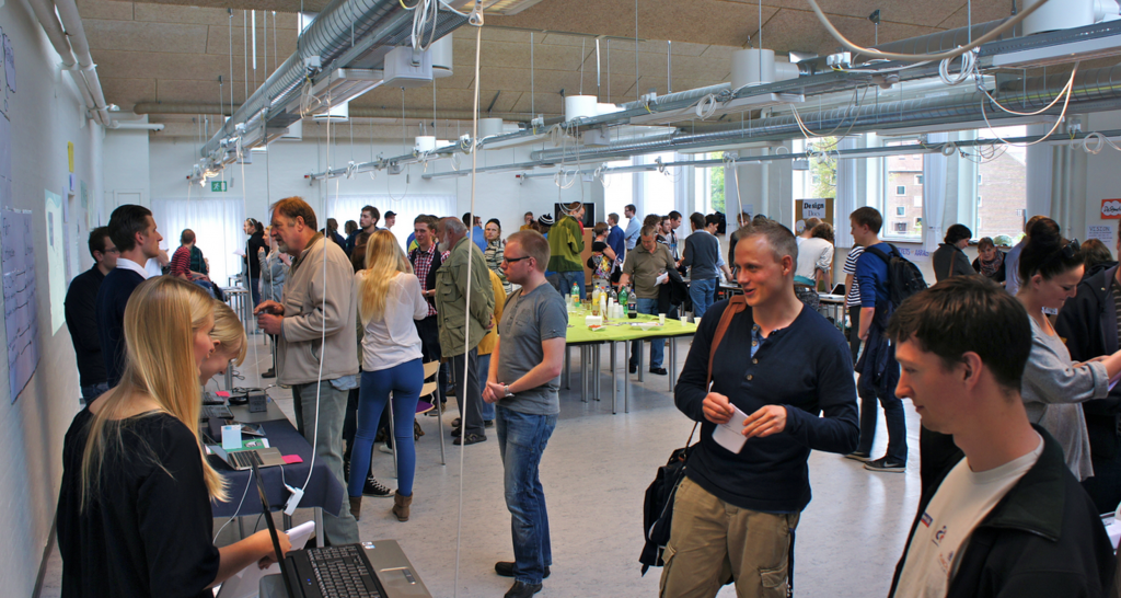 Students present their design projects at design expo 2011